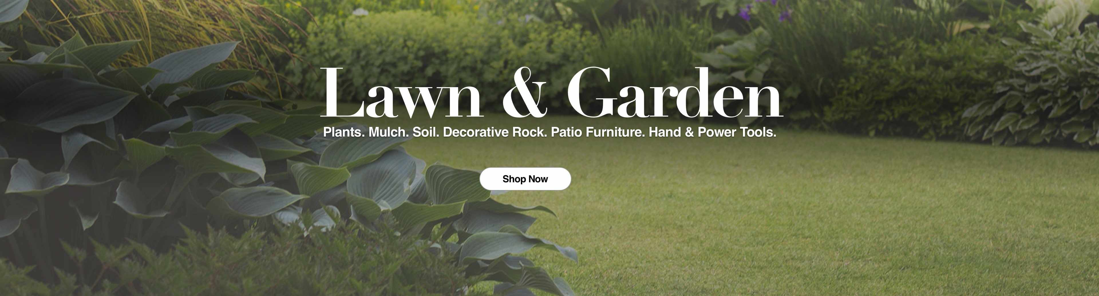 Shop Lawn & Garden at Northern Lumber & Hardware