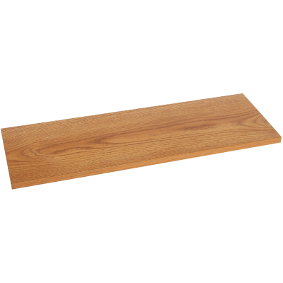 Knape & Vogt 8 In. x 36 In. Oak All-Purpose Shelf