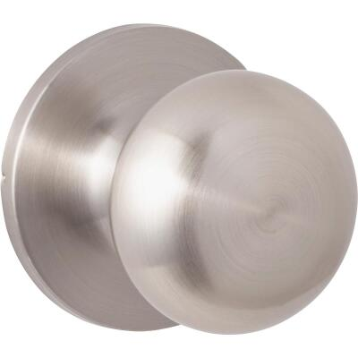 Steel Pro Brushed Nickel Hall & Closet Door Knob