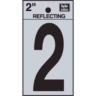 Hy-Ko Vinyl 2 In. Reflective Adhesive Number Two