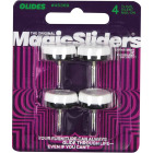 Magic Sliders 7/8 In. Round Nail on Furniture Glide,(4-Pack) Image 2