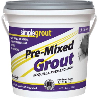 Custom Building Products Simplegrout Gallon Natural Gray Sanded Tile Grout
