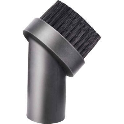 Channellock Round 1-1/4 In. Black Plastic Wet/Dry Vacuum Brush