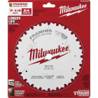 Milwaukee 7-1/4 In. 24-Tooth Framing Circular Saw Blade Image 2