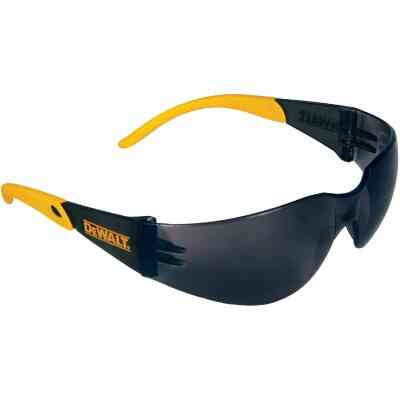 DeWalt Protector Black/Yellow Frame Safety Glasses with Smoke Lenses