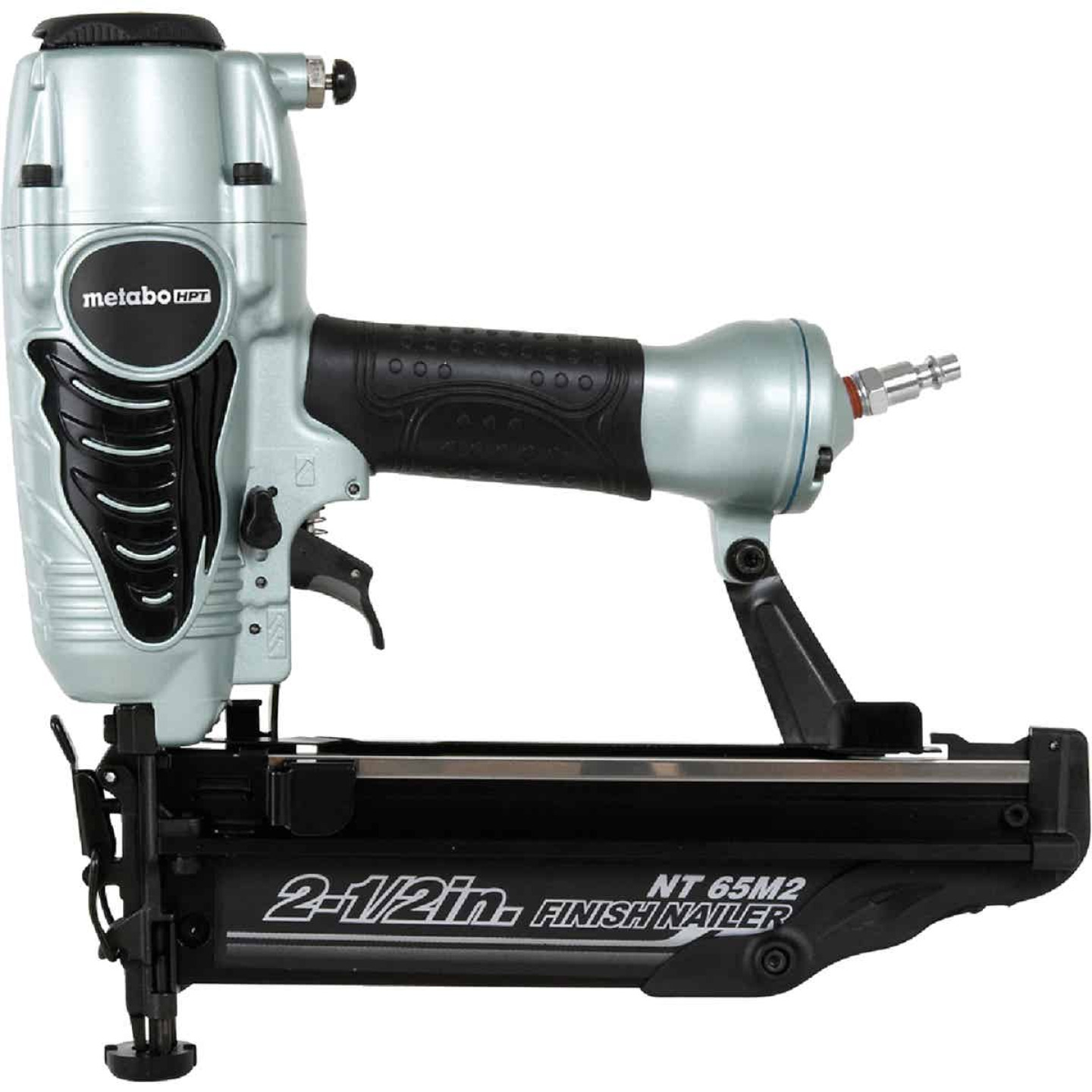 Metabo HPT 16-Gauge 2-1/2 In. Straight Finish Nailer with Air Duster Image 1