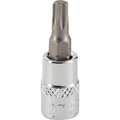 Channellock 1/4 In. Drive T27 6-Point Torx Bit Socket