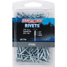 Channellock 1/8 In. Dia. x 1/4 In. Grip Steel Multigrip POP Rivet (100-Pack) Image 1