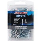 Channellock 1/8 In. to 5/32 In. Dia. x 0.157 In. to 0.315 In. Grip Aluminum Multigrip POP Rivet (100-Pack) Image 1