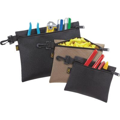 CLC Single-Pocket Multipurpose Zippered Tool Pouch (3-Set)