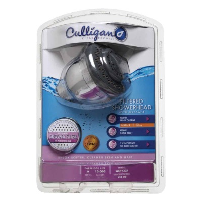 Culligan 5-Spray 2.0 GPM Fixed Showerhead, Chrome
