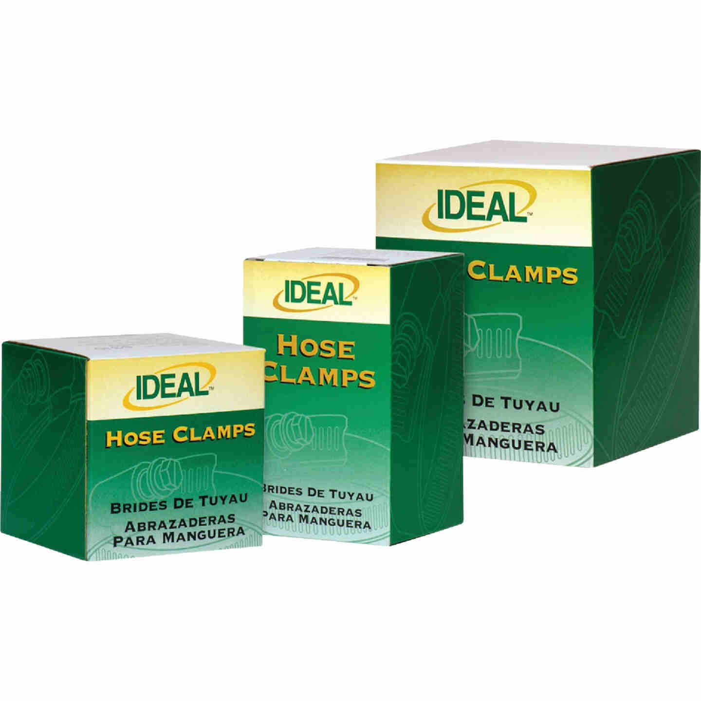 Ideal 2-1/2 In. - 3-1/2 In. 67 All Stainless Steel Hose Clamp Image 2