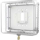 Honeywell Home Clear 7-1/2 In. 6-1/2 In. Thermostat Guard Image 1