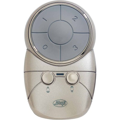 Hunter Gray Universal 3-Speed Ceiling Fan Remote Control
