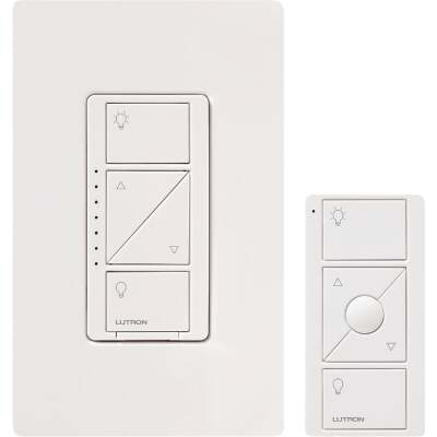 Lutron Caseta White 120V 1.25A Wireless Dimmer