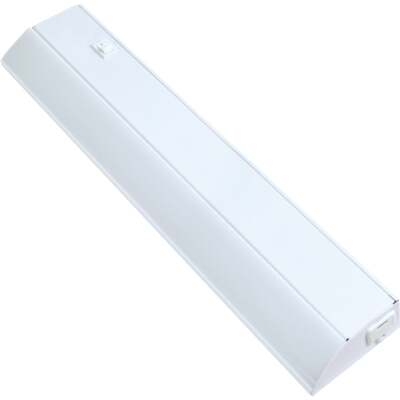 Good Earth Lighting Ecolight 18 In. Direct Wire White LED Under Cabinet Light Bar