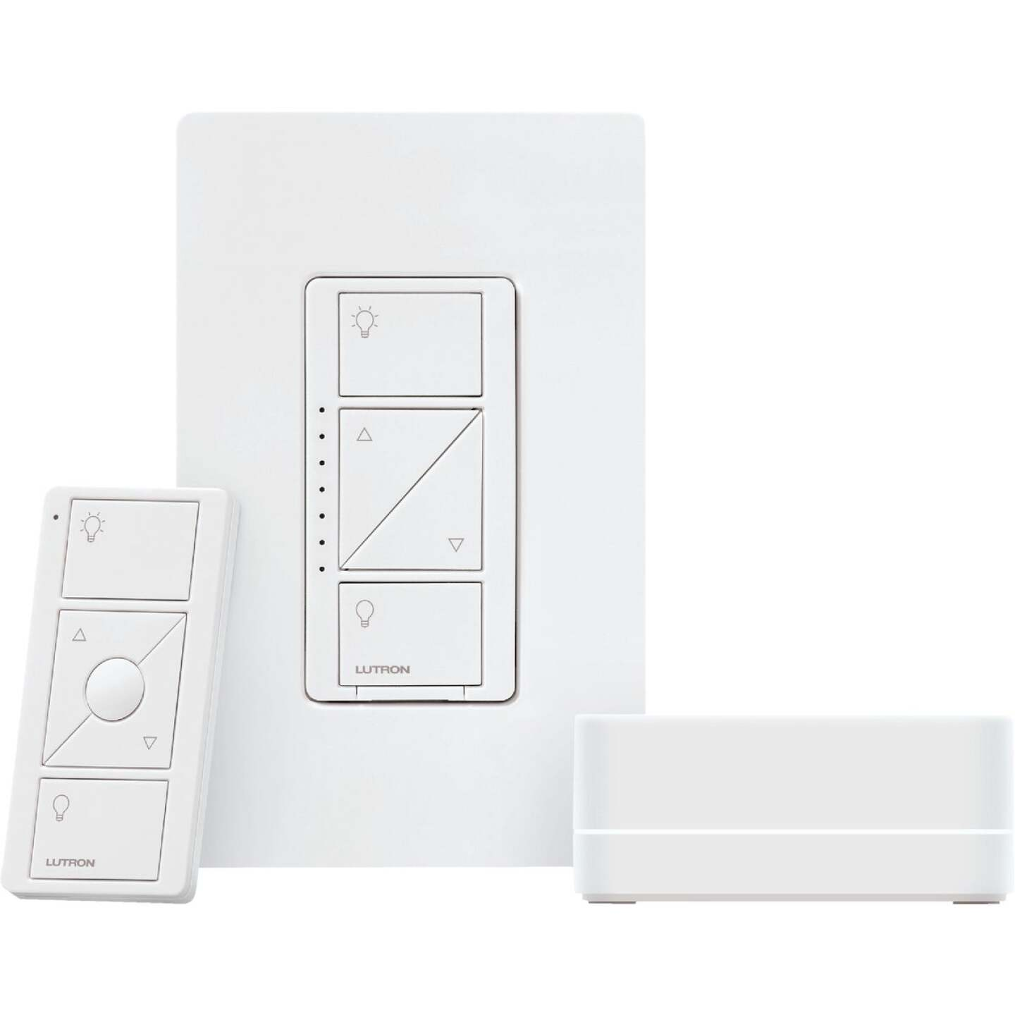 Lutron Caseta White Smart Lighting Wireless Dimmer Image 1