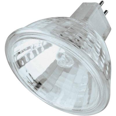Philips 50W Equivalent Clear GU5.3 Base MR16 Halogen Spotlight Light Bulb