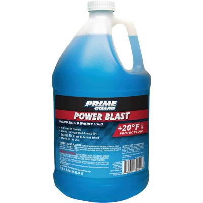 Camco Xtreme Blue 1 Gal. +20 Deg F Temperature Rating All Season Blend Windshield Washer Fluid