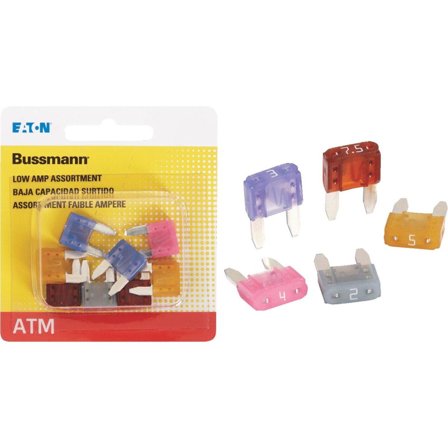 Bussmann ATM Low Amp Fuse Assortment (8-Piece) Image 1