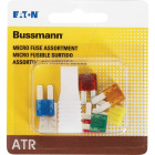Bussmann ATR (Micro II) Fuse Assortment with Fuse Puller (7-Piece) Image 2