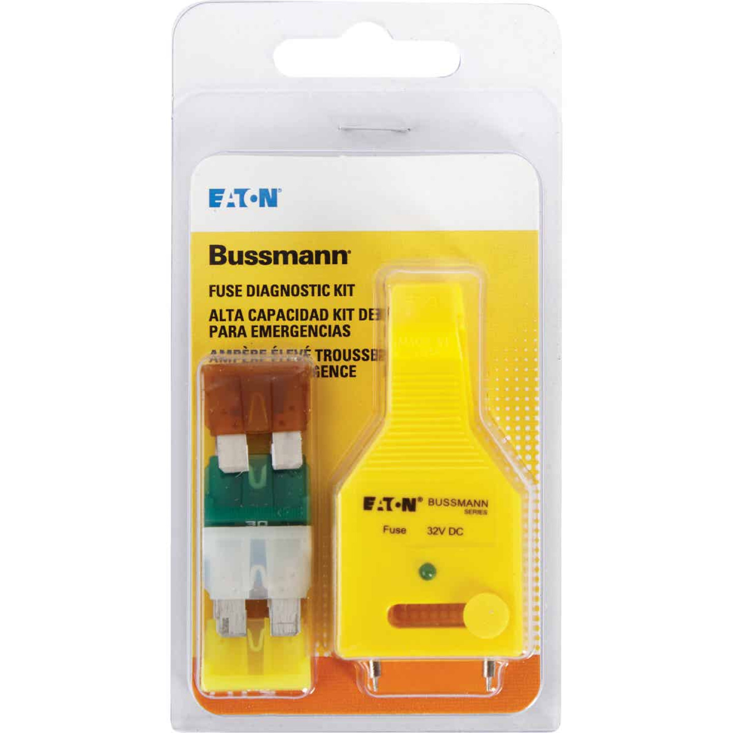 Bussmann ATC Fuse Assortment with Diagnostic Tester/Puller Image 1