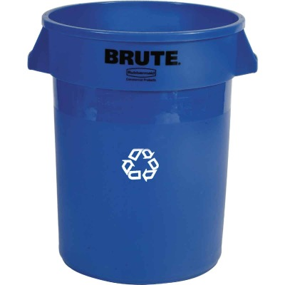 Rubbermaid 32 Gal. Recycling Trash Can