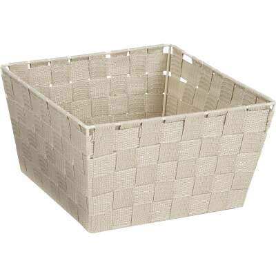 Home Impressions 9.75 In. x 5.5 In. H. Woven Storage Basket, Beige