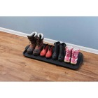XL 18.9 In. x 39.3 In. Black Recycled Plastic Boot Tray Image 3
