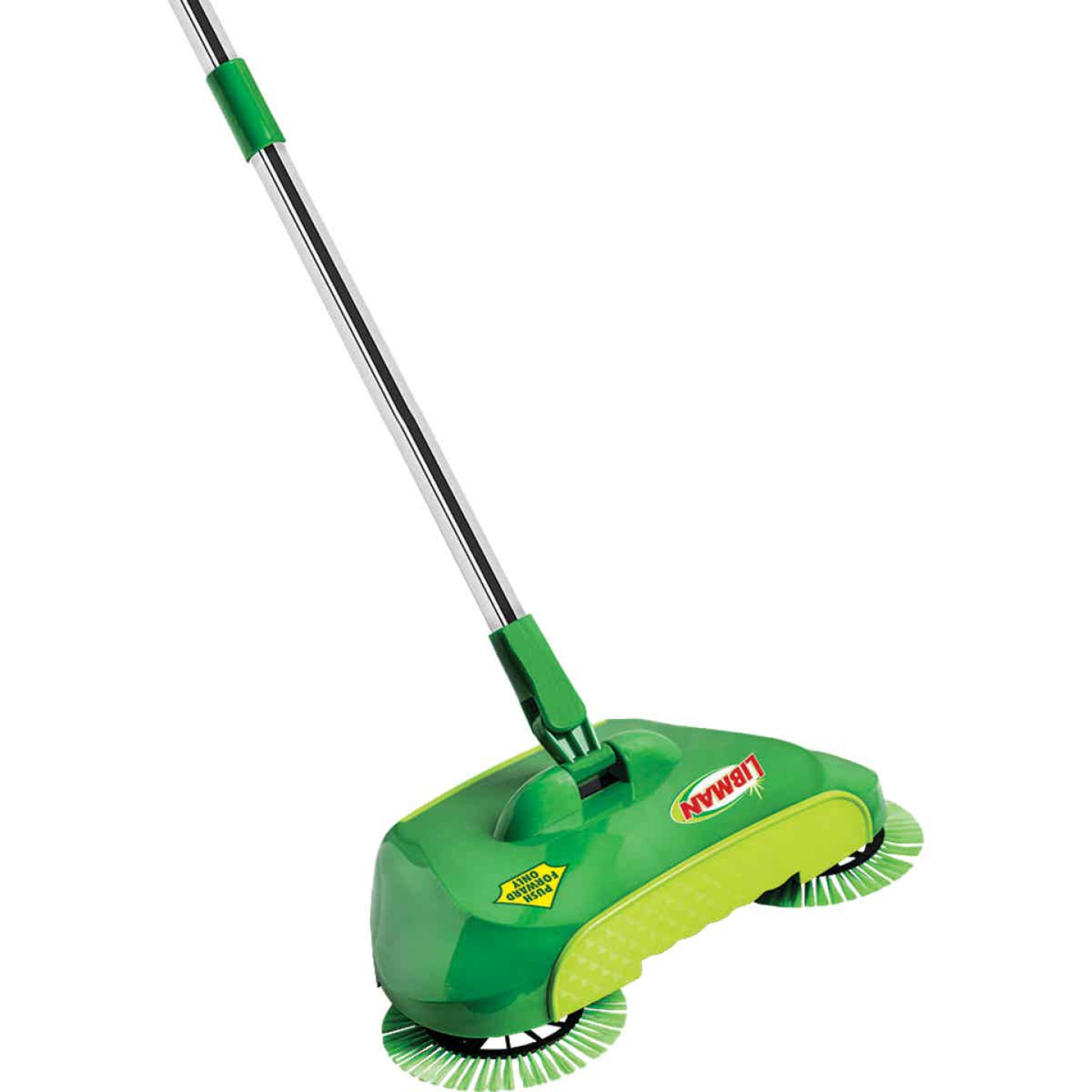 Libman SpiralSweep 12 In. W. x 45 In. L. Steel Handle Broom Image 1
