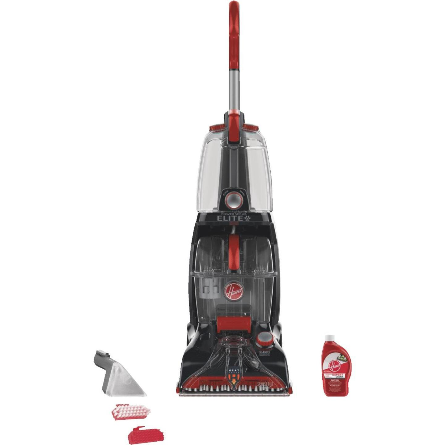 Hoover Power Scrub Elite 1.25 Gal. Pet Upright Carpet Cleaner Machine Image 1