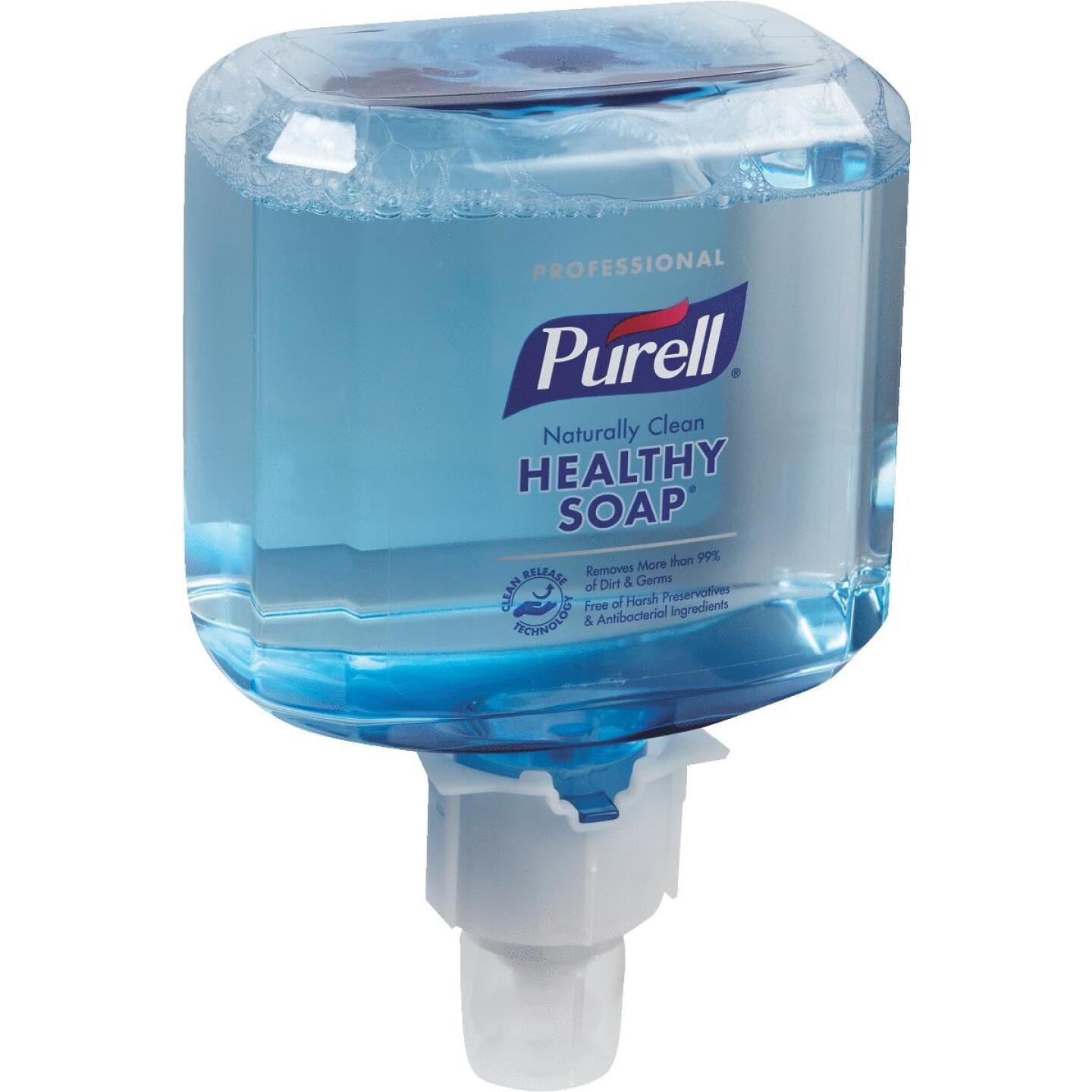 Purell ES4 1200mL Professional CRT Healthy Soap Naturally Clean Foam Refill Image 1