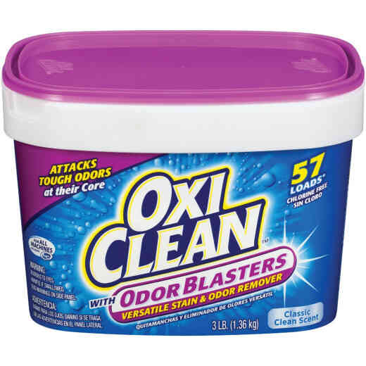 OxiClean 3 Lb. Odor Blasters Versatile Laundry Stain & Odor Remover