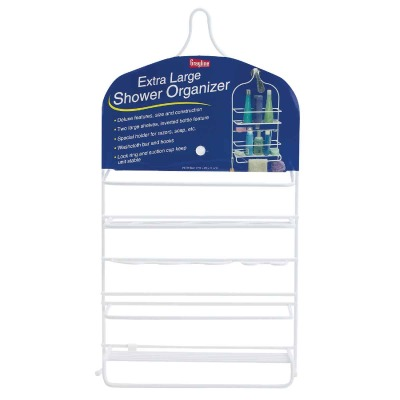 Grayline 22 In. x 12 In. x 5 In. Extra Large Shower Caddy Organizer