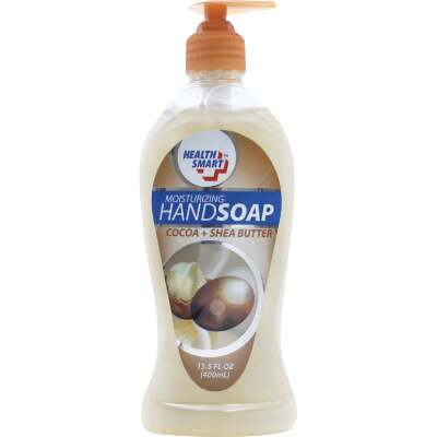 Health Smart 13.5 Oz. Shea Butter Therapy Liquid Hand Soap