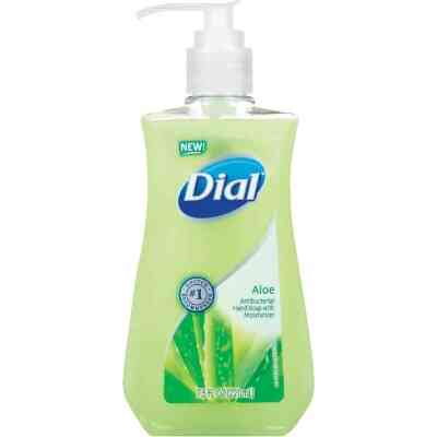 Dial 7.5 Oz. Aloe Antibacterial Liquid Hand Soap with Moisturizer
