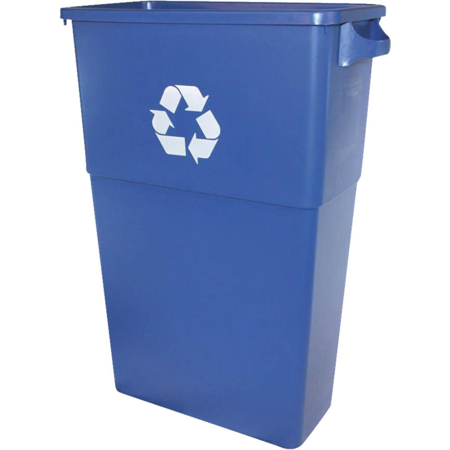 Impact 23 Gal. Recycle Trash Can Container Image 1