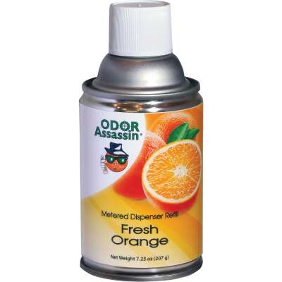 Odor Assassin 7.25 Oz. Fresh Orange Metered Refill