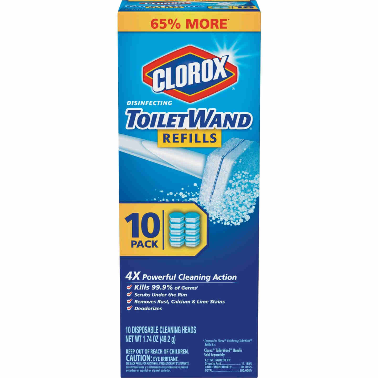 Clorox ToiletWand Refill (10-Count) Image 1