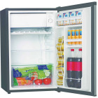 Perfect Aire 4.4 Cu Ft. Silver Single Door Refrigerator with Crisper Image 2