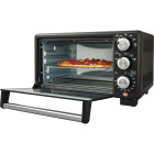 Oster 4-Slice Matte Black Compact Toaster Oven Image 2