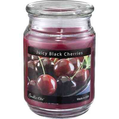 Candle-Lite Everyday 18 Oz. Juicy Black Cherries Jar Candle