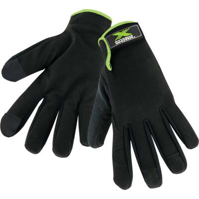 West Chester Protective Gear Extreme Work Men's Large Synthetic Leather Palm Work Glove (2-Pack)