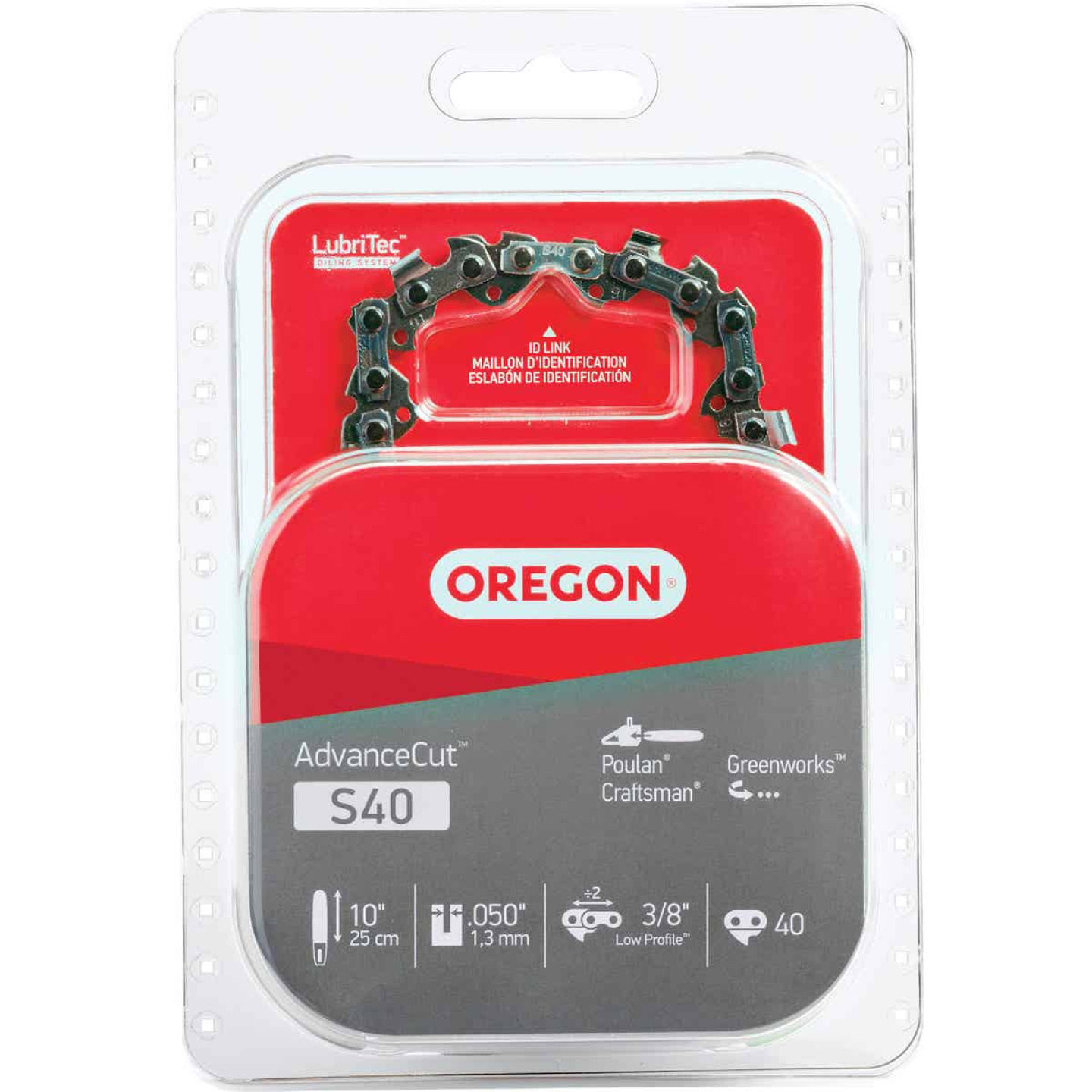 Oregon AdvanceCut S40 10 In. Chainsaw Chain Image 1