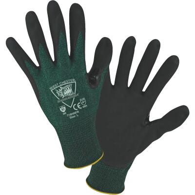 West Chester Protective Gear Barracuda Men's XL 18-Gauge Nitrile Coated Glove