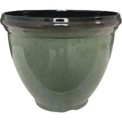 Southern Patio Heritage 12 In. Resin Climbing Ivy Planter