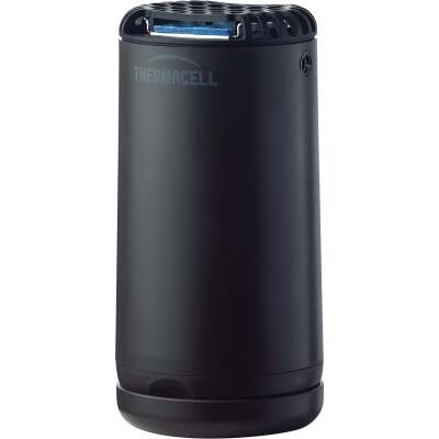 Thermacell Patio Shield 12 Hr. Graphite Black Mosquito Repeller