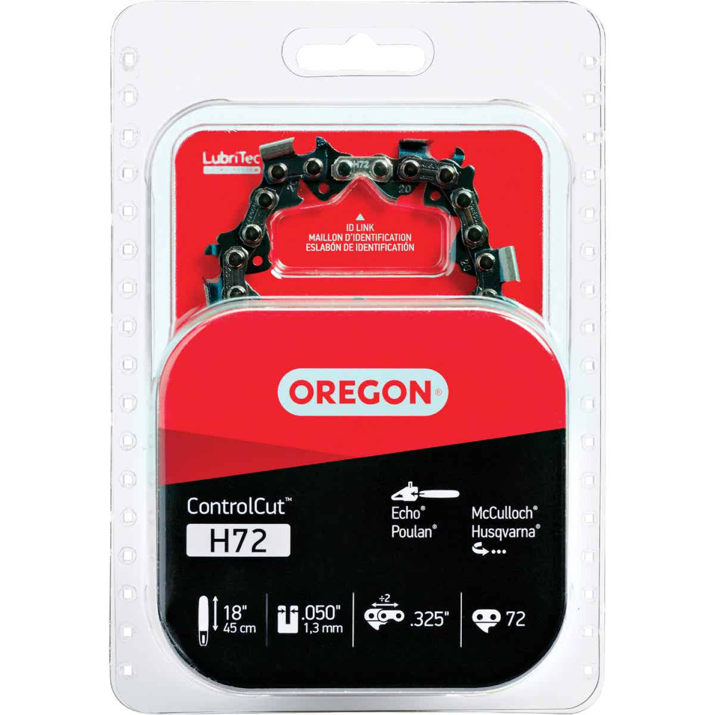 Oregon ControlCut H72 18 In. Chainsaw Chain Image 1