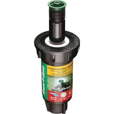Rain Bird 2 In. Full Circle Adjustable 8 Ft. Rotary Sprinkler