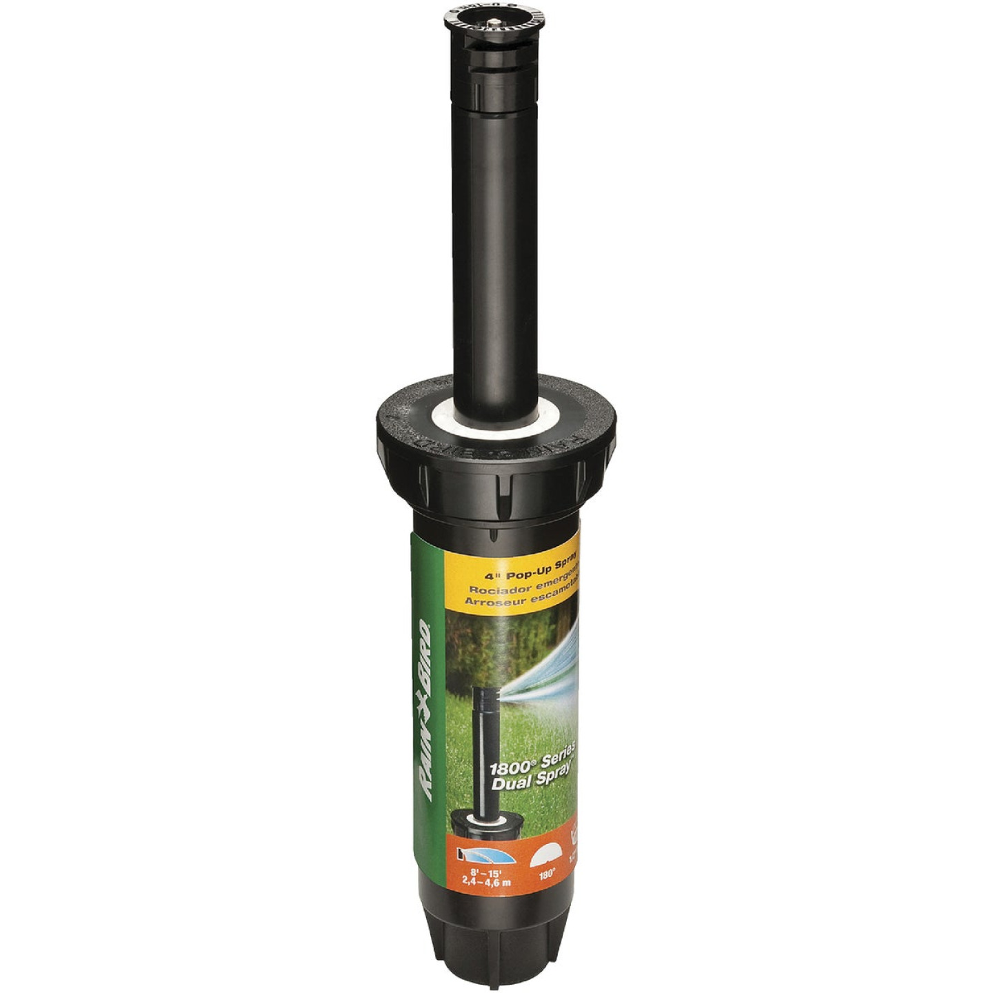 Rain Bird 4 In. Half Circle Dual Spray Pop-Up Head with Pressure Regulator Image 1